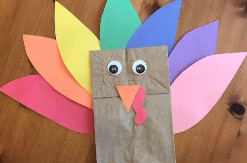 Paper Bag Turket Craft Image