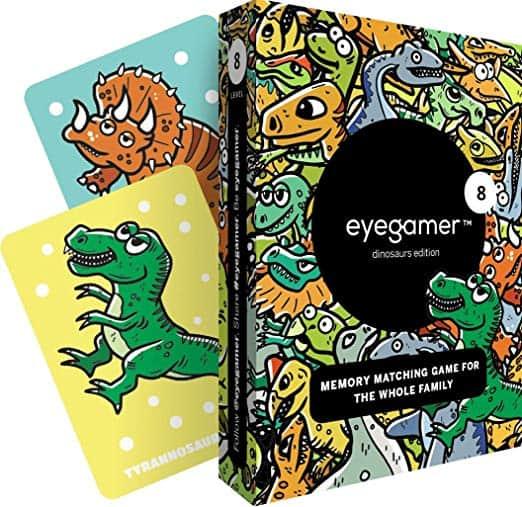 Eyegamer Memory Matching Card Game - Dinosaurs