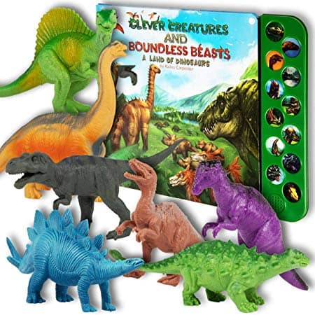 Li'l Gen Dinosaur Figures with Interactive Sound Book