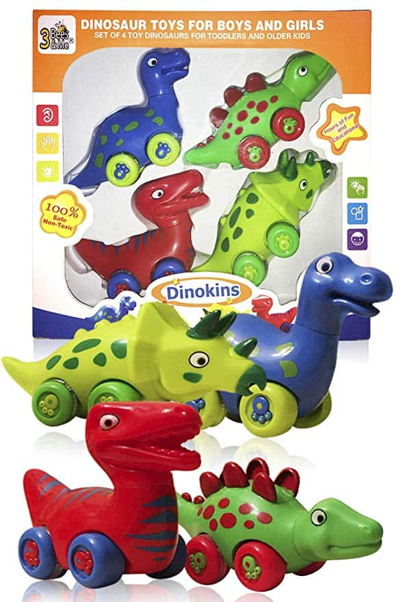 3 Bees and Me Dinosaur Race Toy