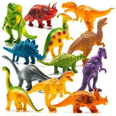 Prextex Realistic Looking Dinosaur Figures