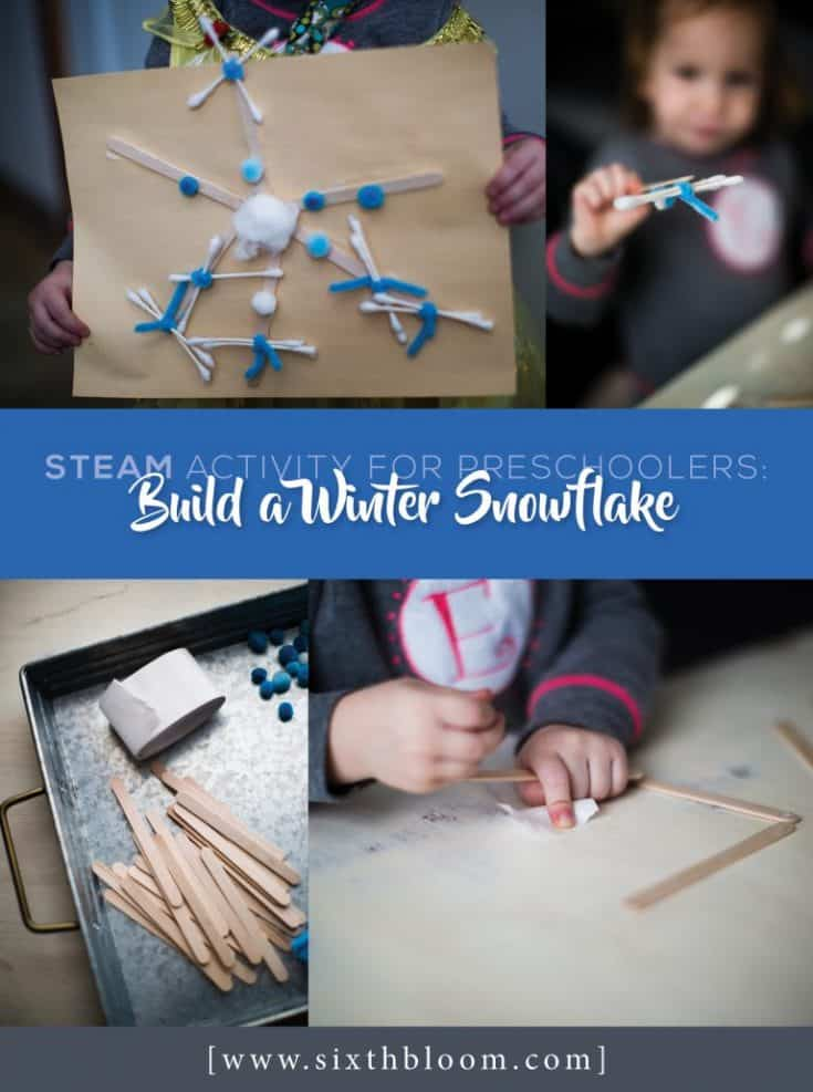 Building a Snowflake Craft
