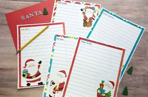 Dear Santa Letters with Pen
