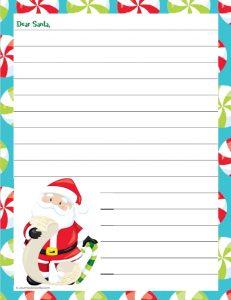 Santa Letter to Write