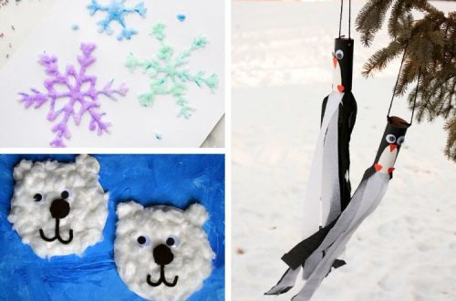 Winter Crafts for 2-Year-Olds