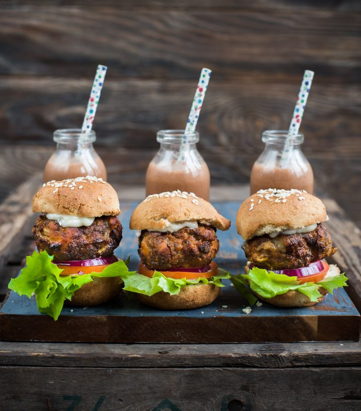 Keto Air Fryer Meatloaf Sliders
