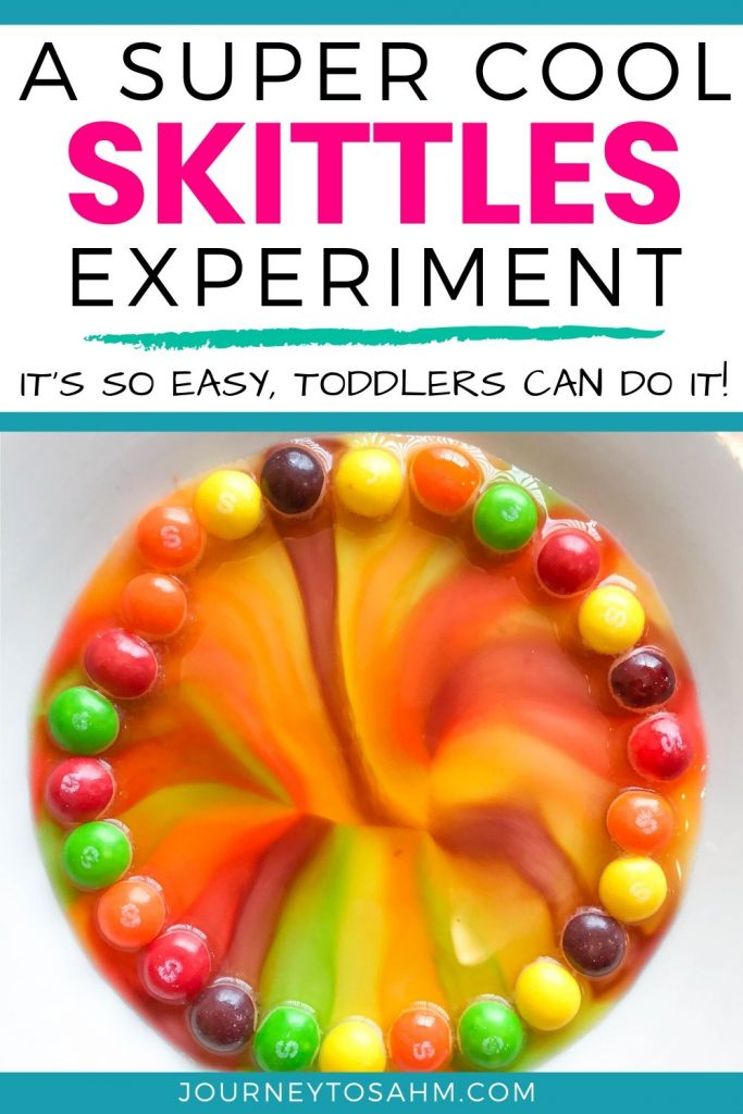Super cool Skittles experiment